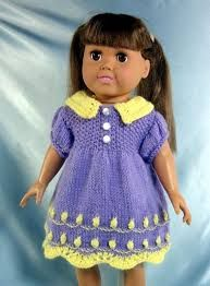 Image result for american girl knit dress patterns free