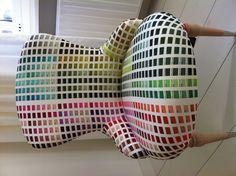 Para elegir el color de tu casa desde el sillón...
