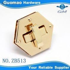 Source Rectangle high quality custom handbag hardware lock on m.alibaba.com