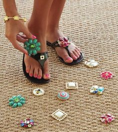 Lindsay Phillips shoes and sandals are 50% off at U Be Dazzled!  All of our great interchangeable straps and snaps are also half off, so the possibilities are endless!