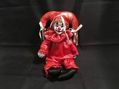 Clown / Jester Doll with Wind-Up Music & Moving Head ; Fable 3, Up Music, Fine Porcelain, Porcelain Tiles, China Mugs, Darth Vader, Comic Books, Dolls, Fictional Characters