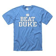 1e1516762832e3 Johnny T-shirt - North Carolina Tar Heels - Beat Duke T (CB)