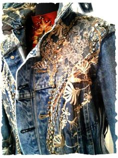 "orterstrom.com    what a cool way to glam up a thrift store ""cowboy"" western jacket"