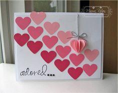 Unique Homemade Valentine Card Design Ideas