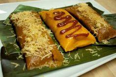Pasteles en hoja plato tipico dominicano