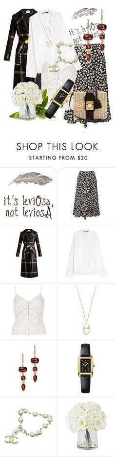 """""""Untitled #275"""" by santyfebrina-nasution on Polyvore featuring Proenza Schouler, Fendi, Haider Ackermann, River Island, Amber Sceats, Chanel and Mark Cross"""