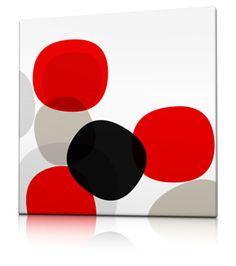 negro rojo gris y blanco