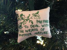 "Poison Ivy ""The Wrath of Mother Nature"" Christmas Ornament Hero Comic Book DC Batman Pamela Lillian Isley Villain FREE Shipping to USA! by HollyAndHerHobbies on Etsy"