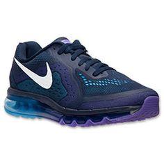 Nike Air Max + 2014 Running Homme (Obsidienne/Voile/Venin Pourpre/Bleu) Chaussures,HOT SALE!