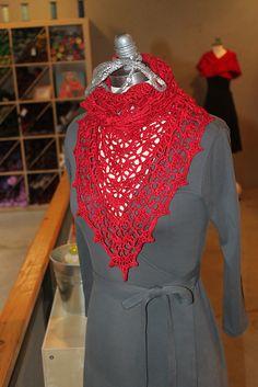 Chal de verano en crochet, con patrón