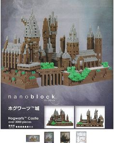 """8 mentions J'aime, 1 commentaires - Megan Dolan (@megan_and_copernicus) sur Instagram: """"OMG! My 2 #favorite things are #nanoBlock #puzzles and #HarryPotter The largest puzzle I've done is…"""""""