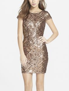 The perfect sequin party dress.