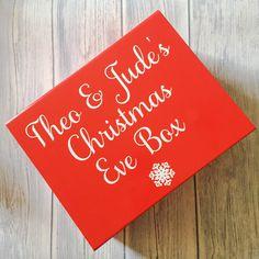 Personalised Christmas Eve Box Christmas Tradition Xmas Eve