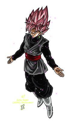 Goku Black Ssj Rose by Gokussj20