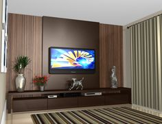 Home theaters mueble home theater planejado Best Home Theater Planejado Sala Moderno Ideas Salas Home Theater, Best Home Theater, Tv Cabinet Design, Tv Wall Design, Home Living, Living Room Decor, Small Living, Modern Tv Wall Units, Living Room Tv Unit Designs