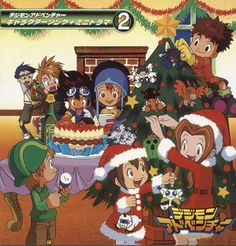 Merry Digimon Christmas