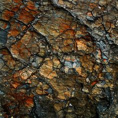 Sedimentary Abstract by Dave Martsolf
