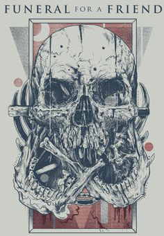 SKULLS by Rafal Wechterowicz, via Behance