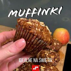 Nie samym sernikiem MuscleMocni żyją! 😎 🍎 Muffinki jabłkowo-cynamonowe, które pachną świętami. Brzmi pysznie? Koniecznie przetestujcie dzisiejszy przepis. Breakfast, Food, Morning Coffee, Eten, Meals, Morning Breakfast, Diet