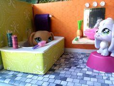 How to Make a Bathtub: LPS Dollhouse DIY