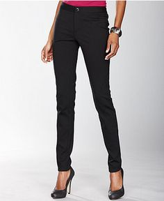 skinny black dress pants - Pi Pants