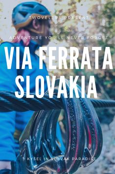 All you need to know about via ferrata in Slovak paradise. Via ferrata Kysel in Slovakia is great adventure for whole family. Crooked Forest, Behind My Back, Greatest Adventure, Never Forget, Weekend Trips, Travel Around The World, Us Travel, Paradise, National Parks
