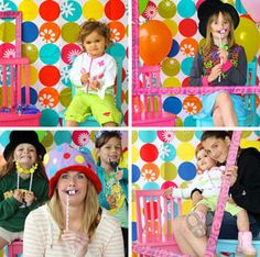 DIY photo booth ideas for your family Hanukkah party. (Great for birthday parties too!)