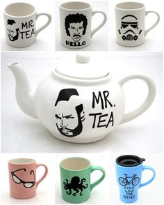 too cool #teapot #mug