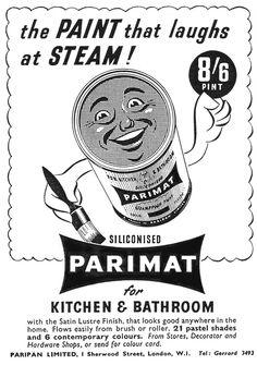 Parimat - The paint that laughs at steam.