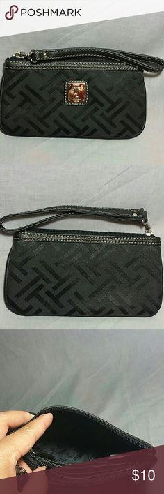 "Tignanello clutch Wristlet Phone Holder Wallet Women's item in a good condition measurements height 4"" height 7.5"" Tignanello Bags Clutches & Wristlets"