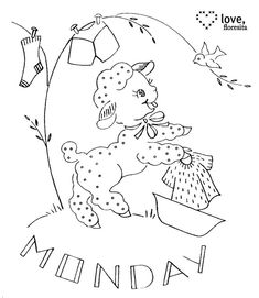 Monday by floresita's transfers - Wole series, /petitpoulailler/needle-arts-%7E-embroidery-quilting-yum/     BACK