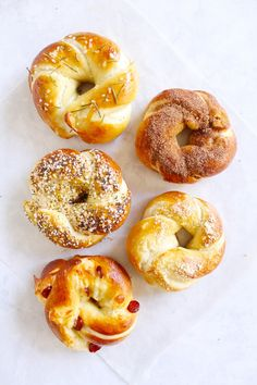 If a pretzel and a bagel were to make a delicious love child, this might be it. What would we call such a thing? A Pregel? A Batzel? Just a soft pretzel in a different shape? Whatever you want to c…