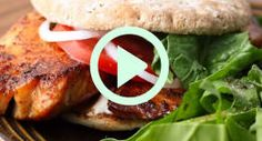 Make A Homemade Blackened Fish Sandwich You'll Love! [VIDEO]