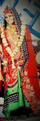 Our Bride in Customised Dress #bridal #lehenga