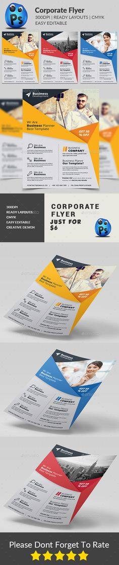 Social Media Discount Flyer Template | Flyer Template