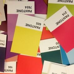 i love pantone colorfull colours, and everything which has pantone pallettes on- cups, cases for ipod,iPhone, chairs, everything!