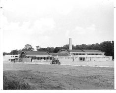 DHS rival, Edsel Ford High School, late Photo courtesy of Dearborn Historical Museum Dearborn Michigan, Edsel Ford, Tear Down, Media Center, Looking Back, Schools, Detroit, 1950s, The Neighbourhood