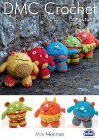DMC Crochet Mini Monsters (15049L/2)