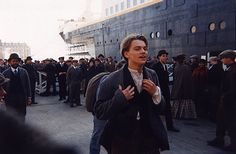 Leonardo DiCaprio - Titanic Titanic Movie Facts, Real Titanic, Jack Dawson, Billy Zane, James Cameron, Movie Co, Film Movie, Kate Winslet, Titanic Behind The Scenes
