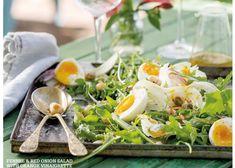 Fennel & red onion salad with orange vinaigrette Onion Salad, Orange Salad, Fennel, Vinaigrette, Red, Vinaigrette Dressing