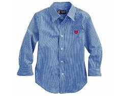 Chaps Boys Gingham Woven Button Down Blue Shirt Size 7-Red Crest Chaps http://www.amazon.com/dp/B00HWMW3P4/ref=cm_sw_r_pi_dp_wCdsub00VVY3R