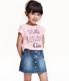 c9d36333 Girls Tops & T-shirts - 18 months - 10 years - Shop online | H&M US