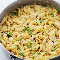 """Chicken Broccoli Shells and Cheese Recipe 01! """""""" @allthecooks #recipe"""