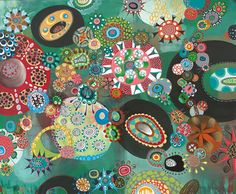 Creative Sketchbook: Swirling and Whirling Out of Control with Melinda Hackett.  Topanga.