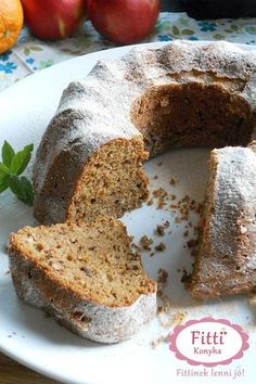 Hungarian Recipes, Cake Cookies, Banana Bread, Cake Recipes, Food And Drink, Xmas, Sweets, Cooking, Healthy