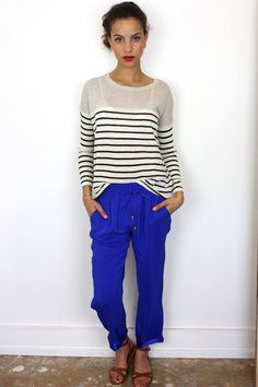 Silk Pant, on shopavenueboutique.com, $150 Pj Pants, Silk Pants, Spring 2014, Fashion Inspiration, Blouses, My Style, Outfits, Tops, Dresses