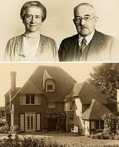 Audrey's maternal grandparents and their home outside of Arnhem, in Oosterbeek, Netherlands where Ella and Audrey stayed during the war (WWII).