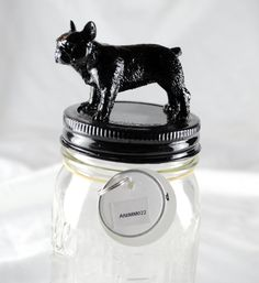 French Bulldog Decorative Animal Mason by LindseyDanielsDesign, $11.00