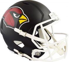 b11279041 Riddell Arizona Cardinals Black Matte Alternate Speed Full-Size Replica  Football Helmet