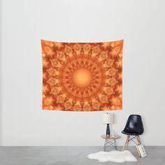 Buy Mandala orange  Wall Tapestry by Christine baessler. Worldwide shipping available at Society6.com. Just one of millions of high quality products available.